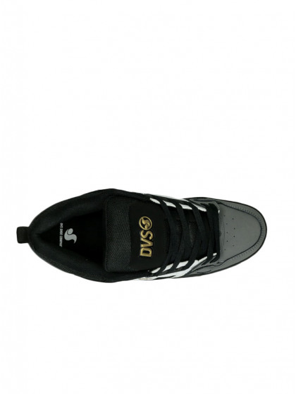 scarpe-skateboard-dvs-comanche-black-white-charcoal-nubuck