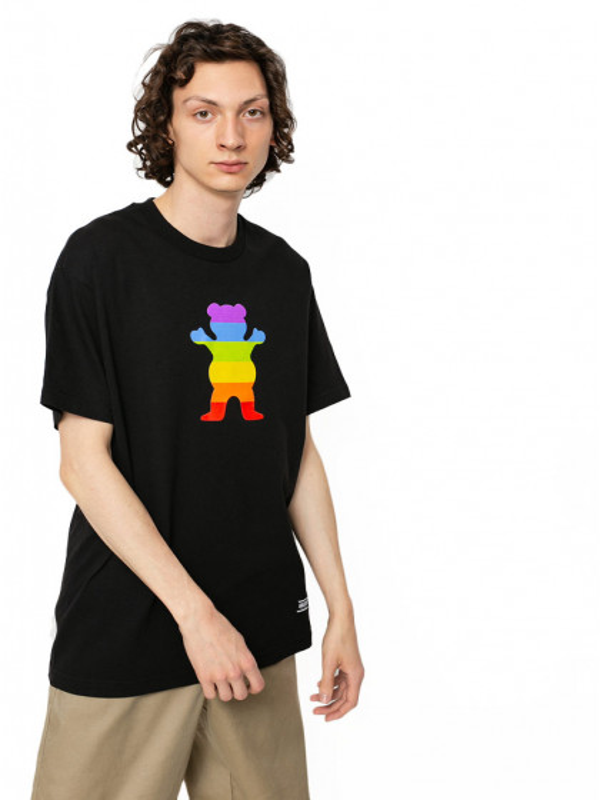 t-shirt-maniche-corte-uomo-grizzly-pride-bear-ss-tee-black