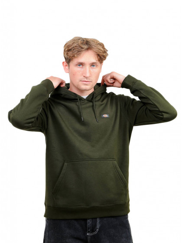 felpa-cappuccio-uomo-dickies-oakport-hoodie-olive-green