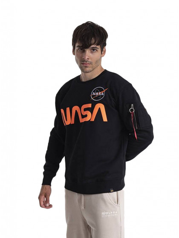 felpa-girocollo-uomo-alpha-industries-nasa-reflective-sweater-black-reflective-orange
