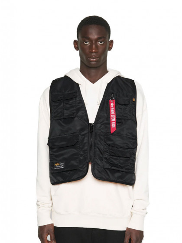 giacca-uomo-alpha-industries-utility-vest-black