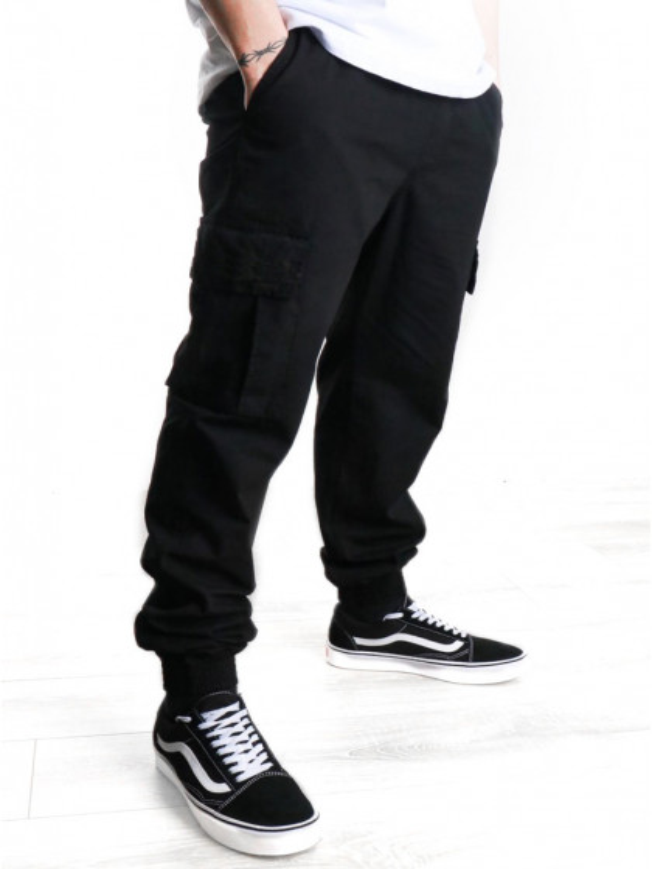 pantalone-tuta-iuter-cargo-jogger-black