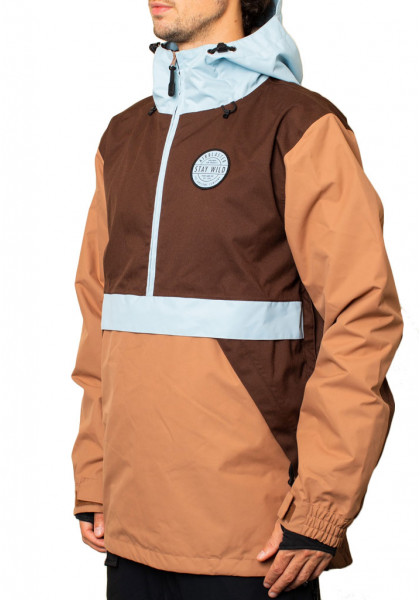 giacca-snowboard-uomo-airblaster-trenchover-chocolate