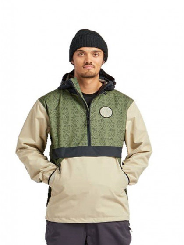 giacca-snowboard-uomo-airblaster-trenchover-lb-lizard