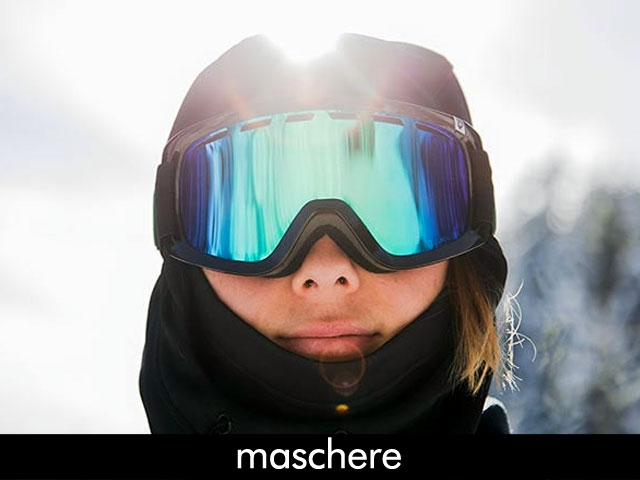 Minoia Board Co. negozio online snowboard Maschere da snowboard OAKLEY SMITH ANON SPY ASHBURY ELECTRIC