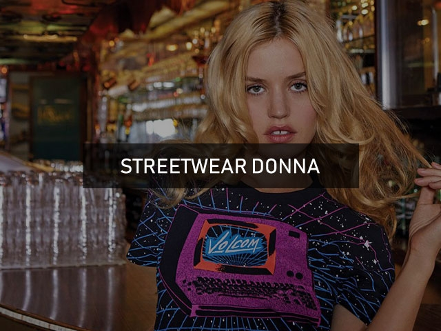 outlet streetwear donna